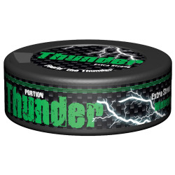THUNDER WINTERGREEN EXTRA STRONG PORTION