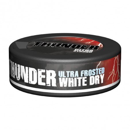 THUNDER ULTRA FROSTED WHITE DRY PORTION